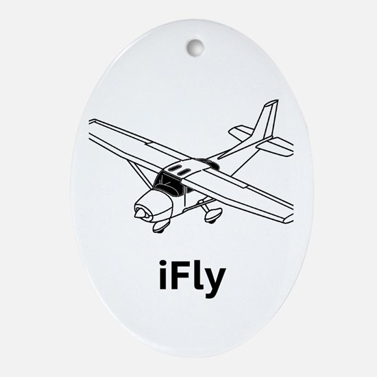 iFly Ornament (Oval)
