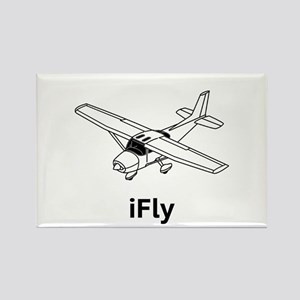 iFly Rectangle Magnet