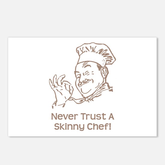 Skinny Chef Postcards (Package of 8)