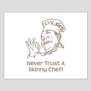Skinny Chef Small Poster