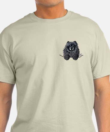 Black Chow Chow T-Shirt