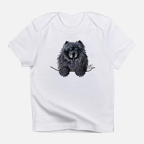 Black Chow Chow Infant T-Shirt
