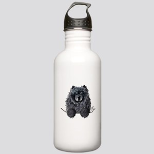 Black Chow Chow Stainless Water Bottle 1.0L