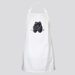 Black Chow Chow Apron