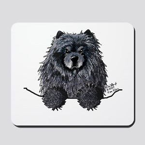 Black Chow Chow Mousepad