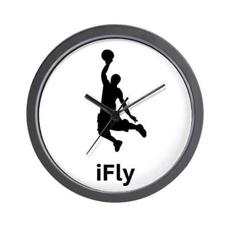 Basketball iFly Wall Clock