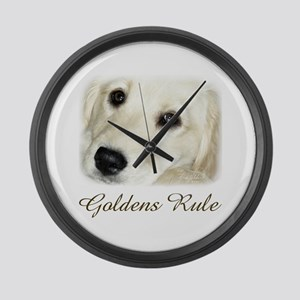 Goldens Rule Large Wall Clock