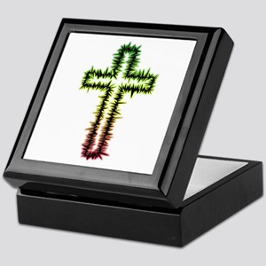 Thorny Cross Keepsake Box