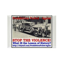 ProhibitionFailed-2 Rectangle Magnet (100 pack)