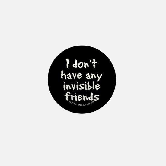 Invisible Friends Mini Button