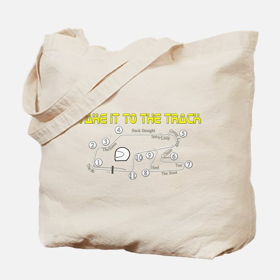 Track Days Tote Bag