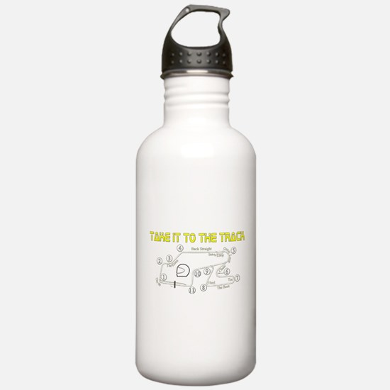 Track Days Water Bottle