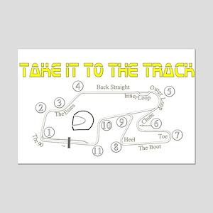 Track Days Mini Poster Print