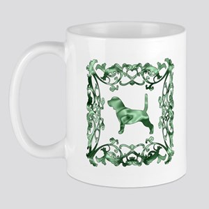 Basset Hound Lattice Mug