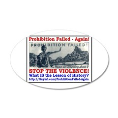 ProhibitionFailed-1 22x14 Oval Wall Peel