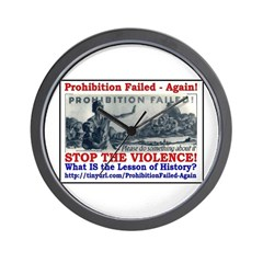 ProhibitionFailed-1 Wall Clock
