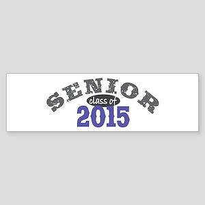 Senior Class of 2015 Sticker (Bumper)