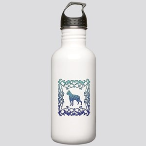 Boston Terrier Lattice Stainless Water Bottle 1.0L