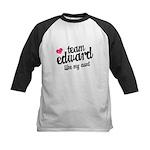 Team Edward Aunt Kids Baseball Jersey