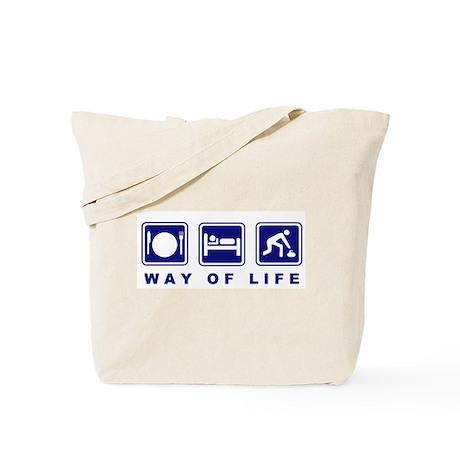 Way of Life Curling Tote Bag