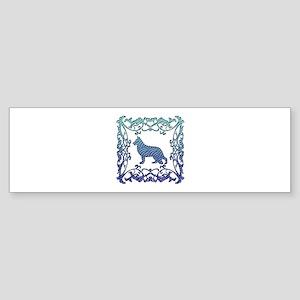 German Shepherd Sticker (Bumper)