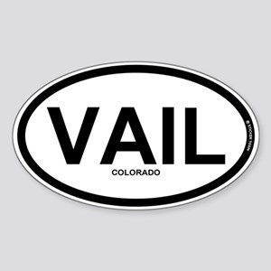 VAIL - Vail Colorado Sticker (Oval)