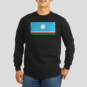 Sakha Flag Long Sleeve Dark T-Shirt