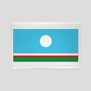 Sakha Flag Rectangle Magnet