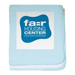 FHC logo baby blanket