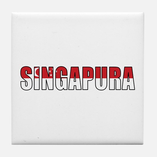 Singapore (Malay) Tile Coaster
