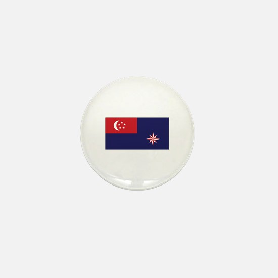 Singapore Govt. Ensign Mini Button