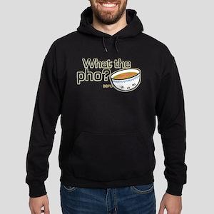 What the Pho Hoodie (dark)