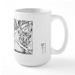 Here Comes Somebody 02 Large Mug