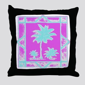 Lilly Palms  Throw Pillow