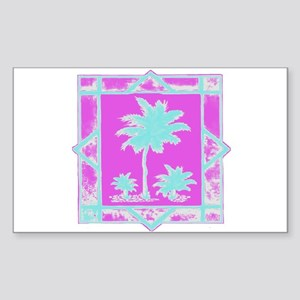 Lilly Palms Rectangle Sticker