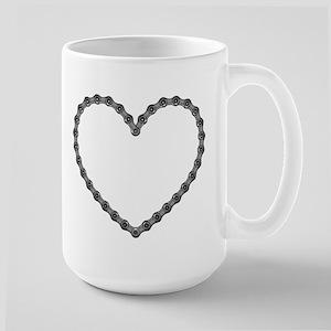 Chain Heart Large Mug