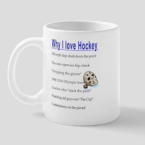 Why I Love Hockey Mug
