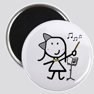 Girl & Conductor Magnet