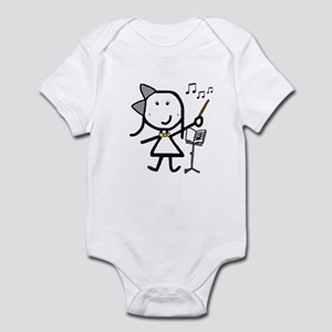 Girl & Conductor Infant Bodysuit