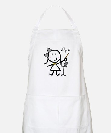 Girl & Conductor BBQ Apron
