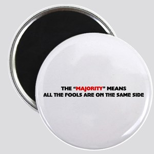 The majority means Magnet