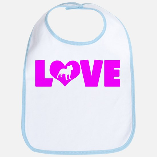 LOVE STAFFORDSHIRE Bib