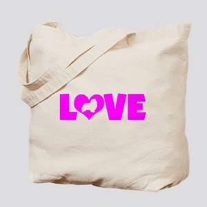 LOVE SHELTIE Tote Bag