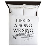 Life is a song we sing-tomaca Queen Duvet