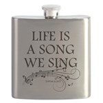 Life is a song we sing-tomaca Flask