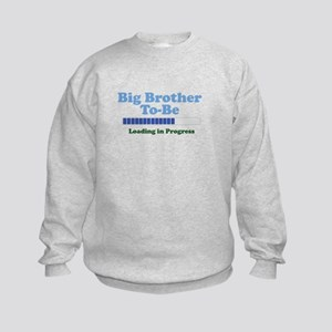 Big Brother To Be Kids Sweatshirt