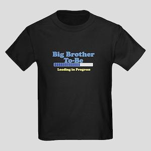 Big Brother To Be Kids Dark T-Shirt