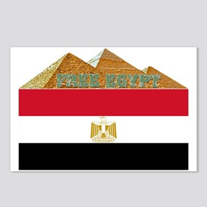 Free Egypt Flag Postcards (Package of 8)