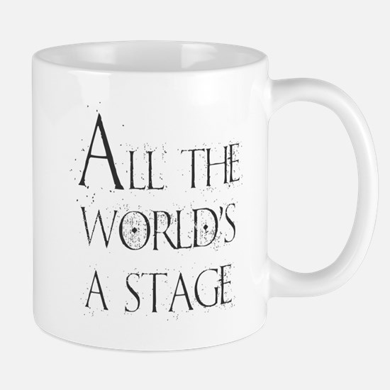 All the Worlds a Stage Mugs