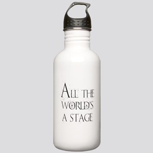 All the Worlds a Stage Stainless Water Bottle 1.0L